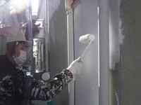 那珂市 か和とく様 屋根・外壁塗装(下塗り)