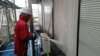 真岡市  M様邸  外壁塗装(高圧洗浄)