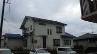 真岡市  N様邸  屋根・外壁塗装(着工前)