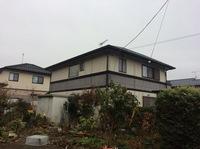 芳賀町 T様邸 屋根・外壁塗装(着工前)