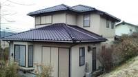 益子町 O様邸 外壁塗装(着工前)