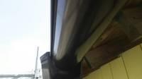 益子町 O様邸 納屋・樋塗装(施工前・ケレン・下塗り・上塗り)