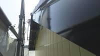 益子町 O様邸 納屋・破風塗装(施工前・ケレン・下塗り・上塗り)