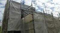 真岡市 W様邸 屋根・外壁塗装(架設足場組立)